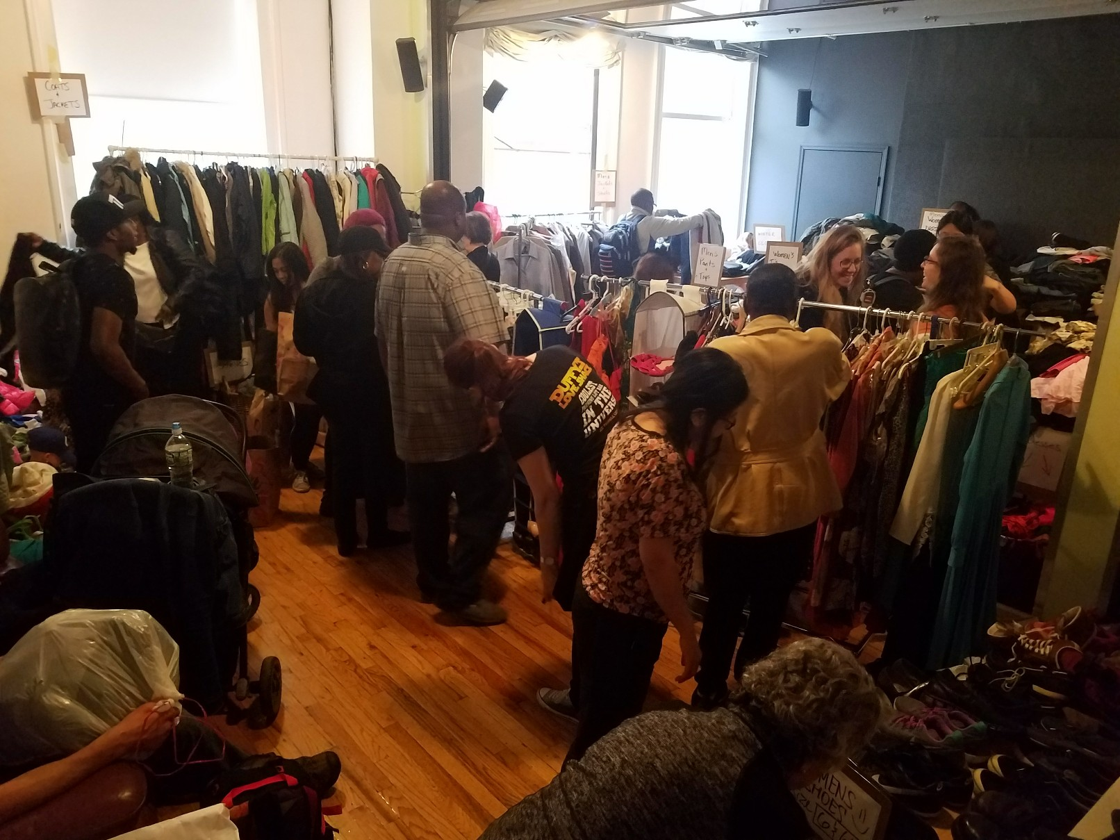 Clothing Give Away Fall 2017
