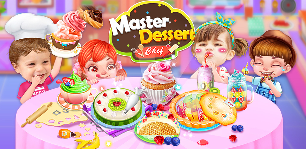 Master Dessert Chef!  Follow the instructions in the secret cook book to make Yummy desserts!