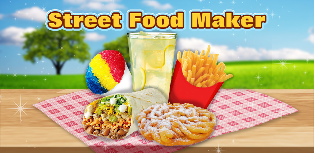 Street Food Maker - Kids Game  Put your chef hat on! Learn how to cook fries, burrito, lemonade, churros & MORE