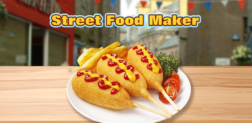 Street Food  An easy FREE food game for kids! Make funnel cake, fry bread, burritos, churros.