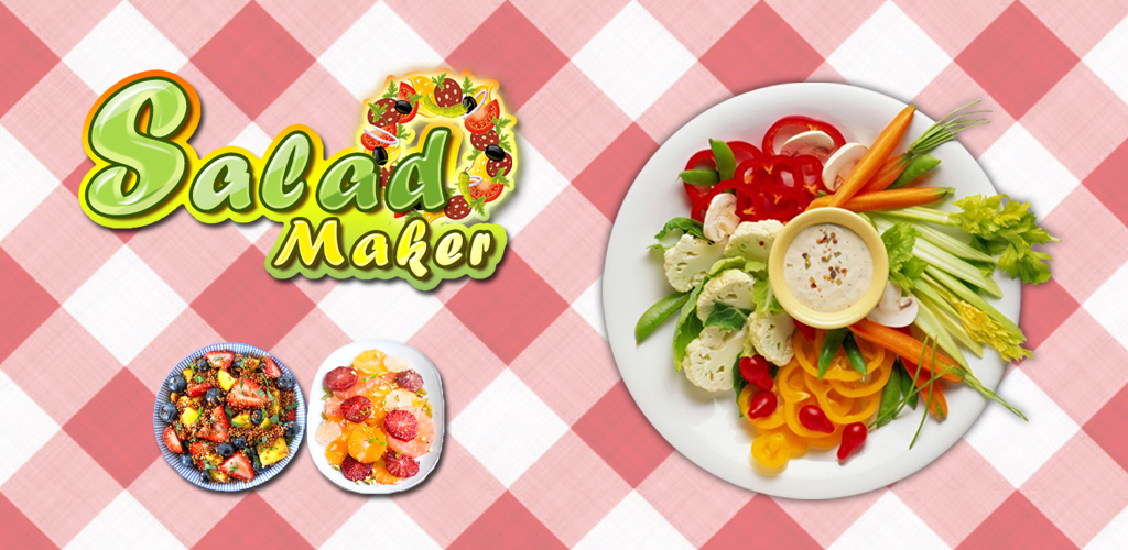 Salad Maker!  Make Crunchy Healthy Delicious Salads!