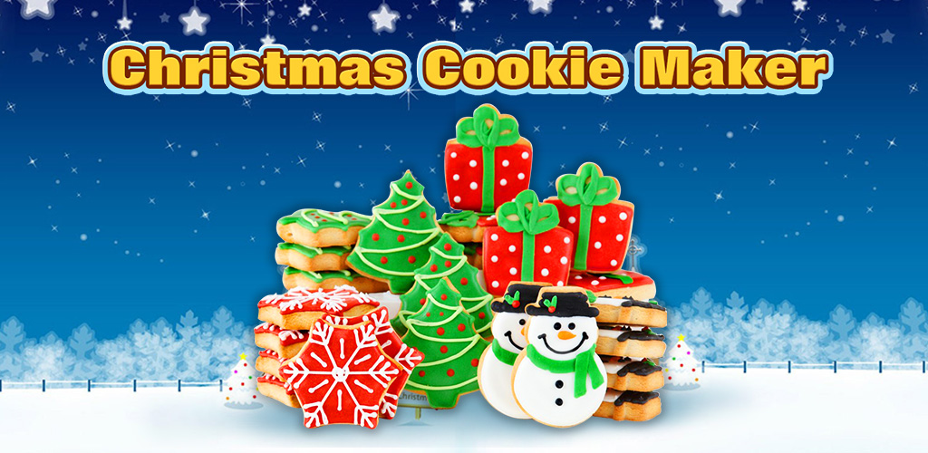 Cookie Maker: Frozen Christmas  Make cookies as special Christmas gifts to families! Learn how to bake easily!