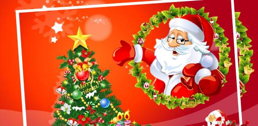 Christmas Card Maker!  Make your own Christmas card! Season's Greetings! Happy Holidays!
