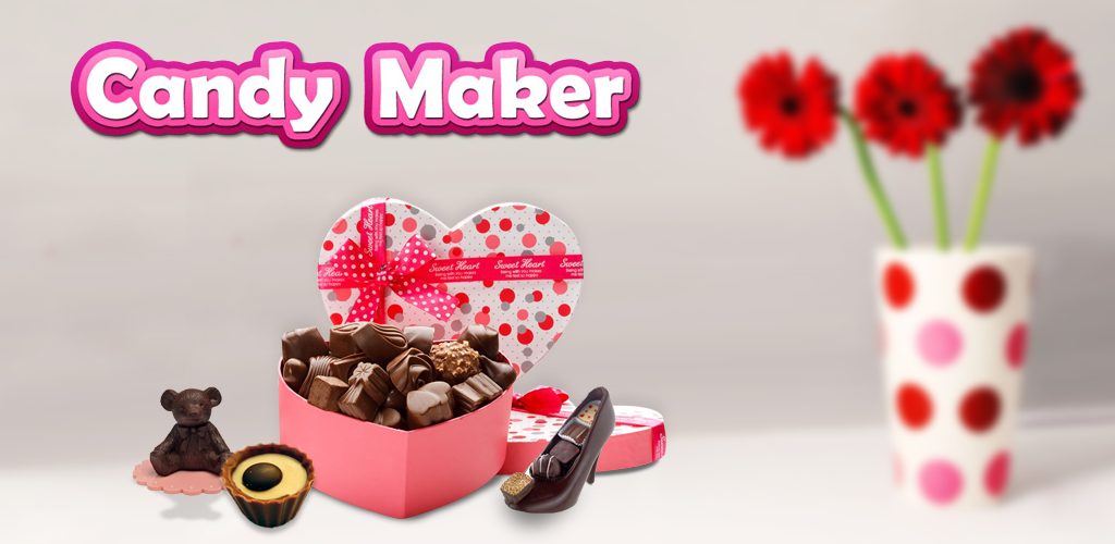 Candy Maker                    Make & Design your own candies in many shapes, colors & flavors! Have a taste!