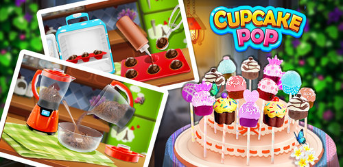 Cupcake Pop Maker! Sweet Game  Want to have tasty CUPCAKE plus awesome CAKE POP? Come play this DESSERT game!