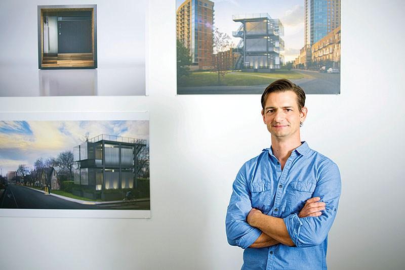 Dason Whitsett, the principal architect at Kasita, has big dreams for modular structures.