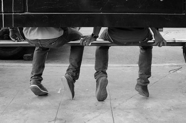 tribe friendship bench