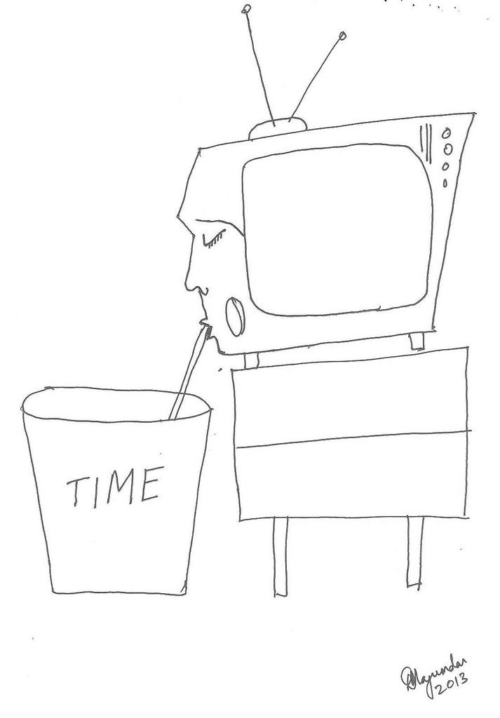 television tv brainwash time waste