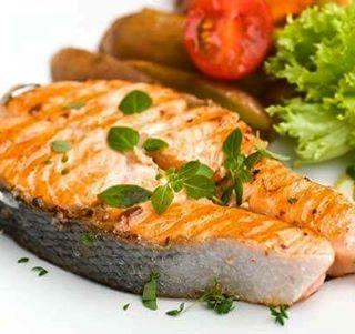 good fats healthy salmon stephcuesta
