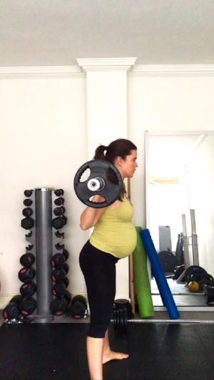 Fit pregnancy back squats stephcuesta