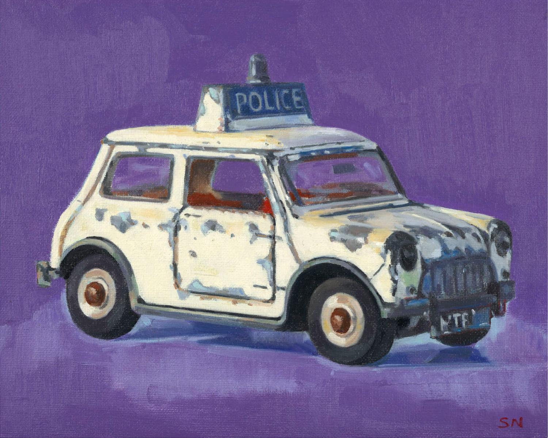 Dinky Police Mini-Cooper