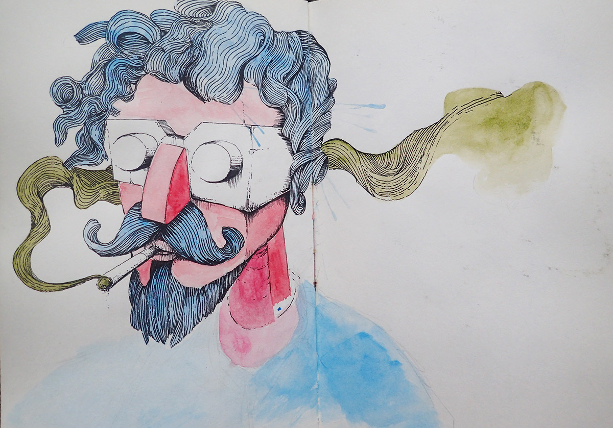 Smoking blue beard.jpg