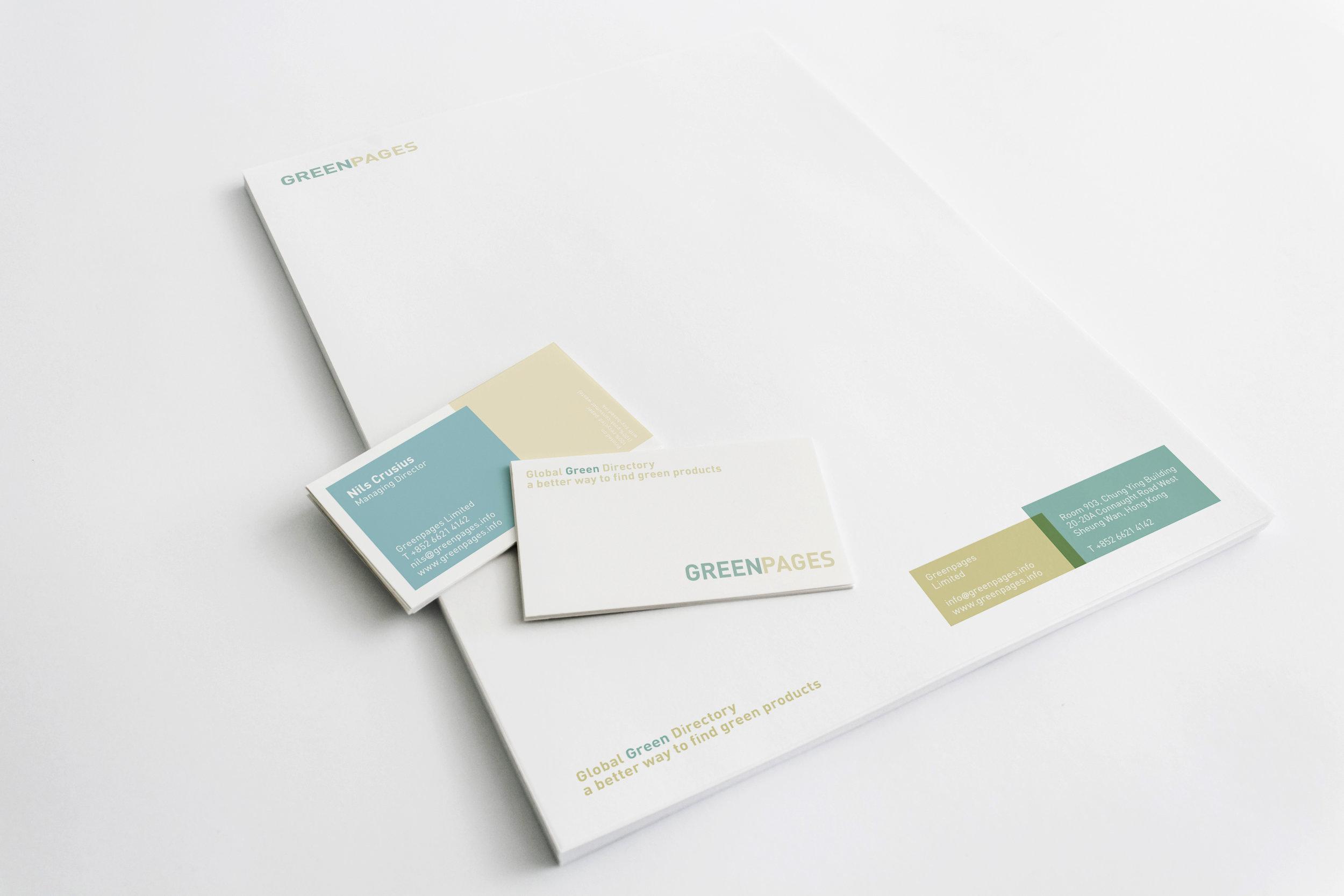 GreenPages_Brand_Identity_Stationery