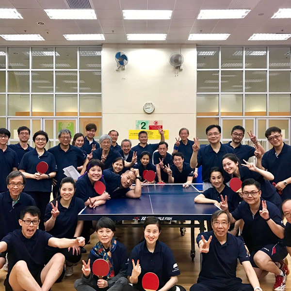 Ping-Pong Internal Frie ndly Game  05 Apr 2017
