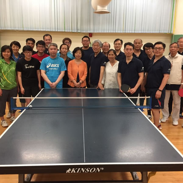 Ping-Pong Friendly Match with Jardines  20 Apr 2017