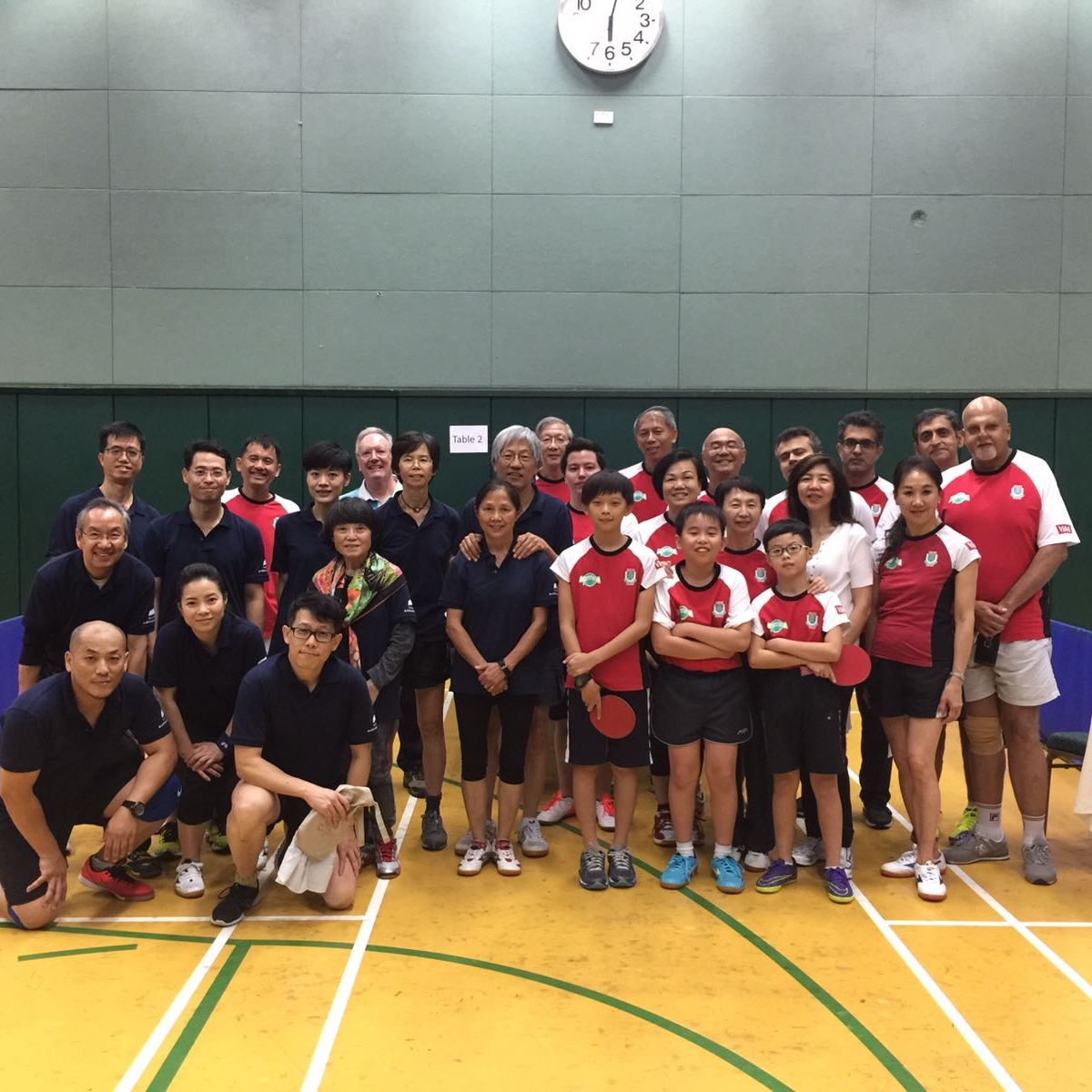 Ping-Pong Friendly Match with Kowloon Cricket Club  17 Sep 2016