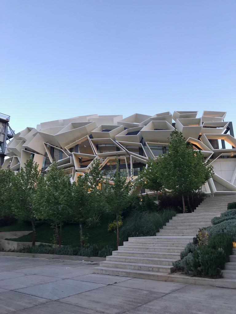 Convention Centre (Greenland), Shiraz
