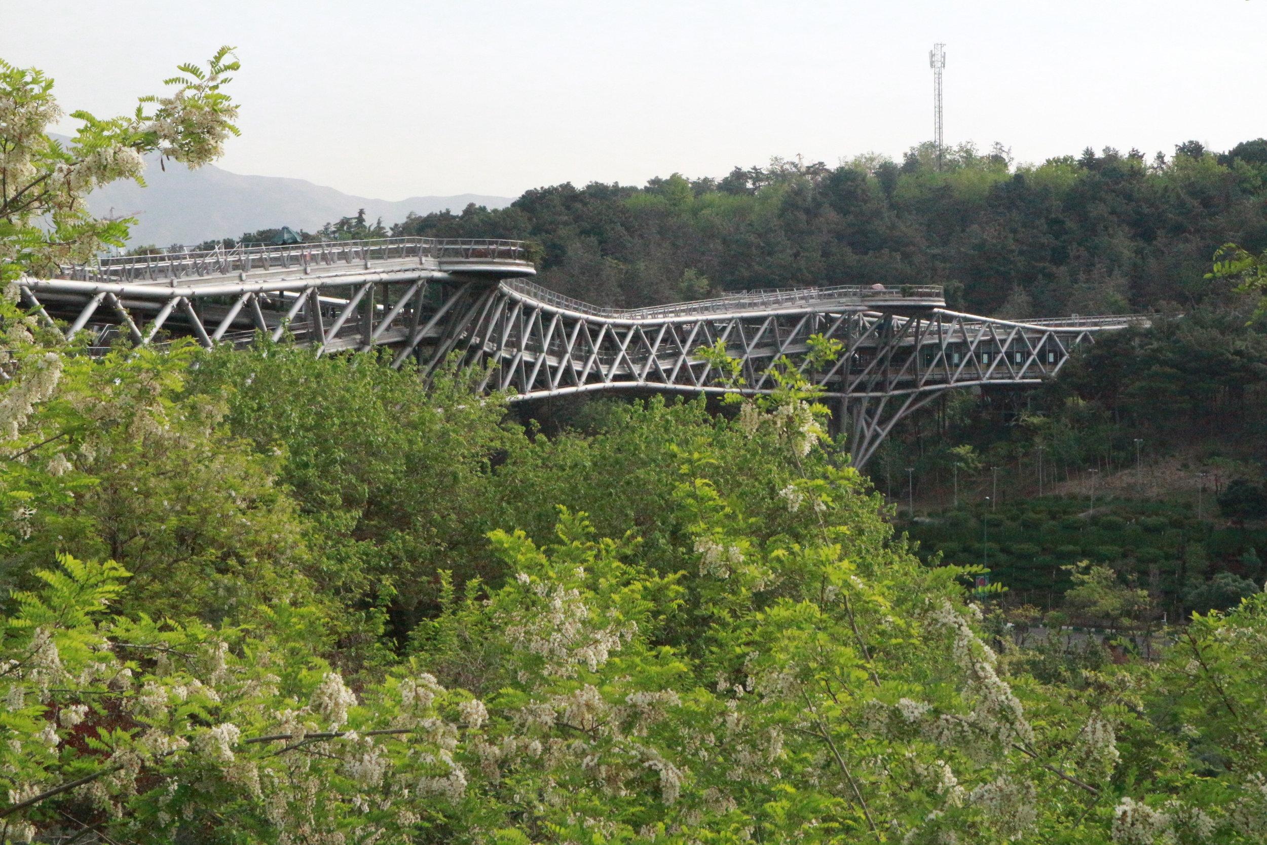 Tabiat Bridge, Tehran
