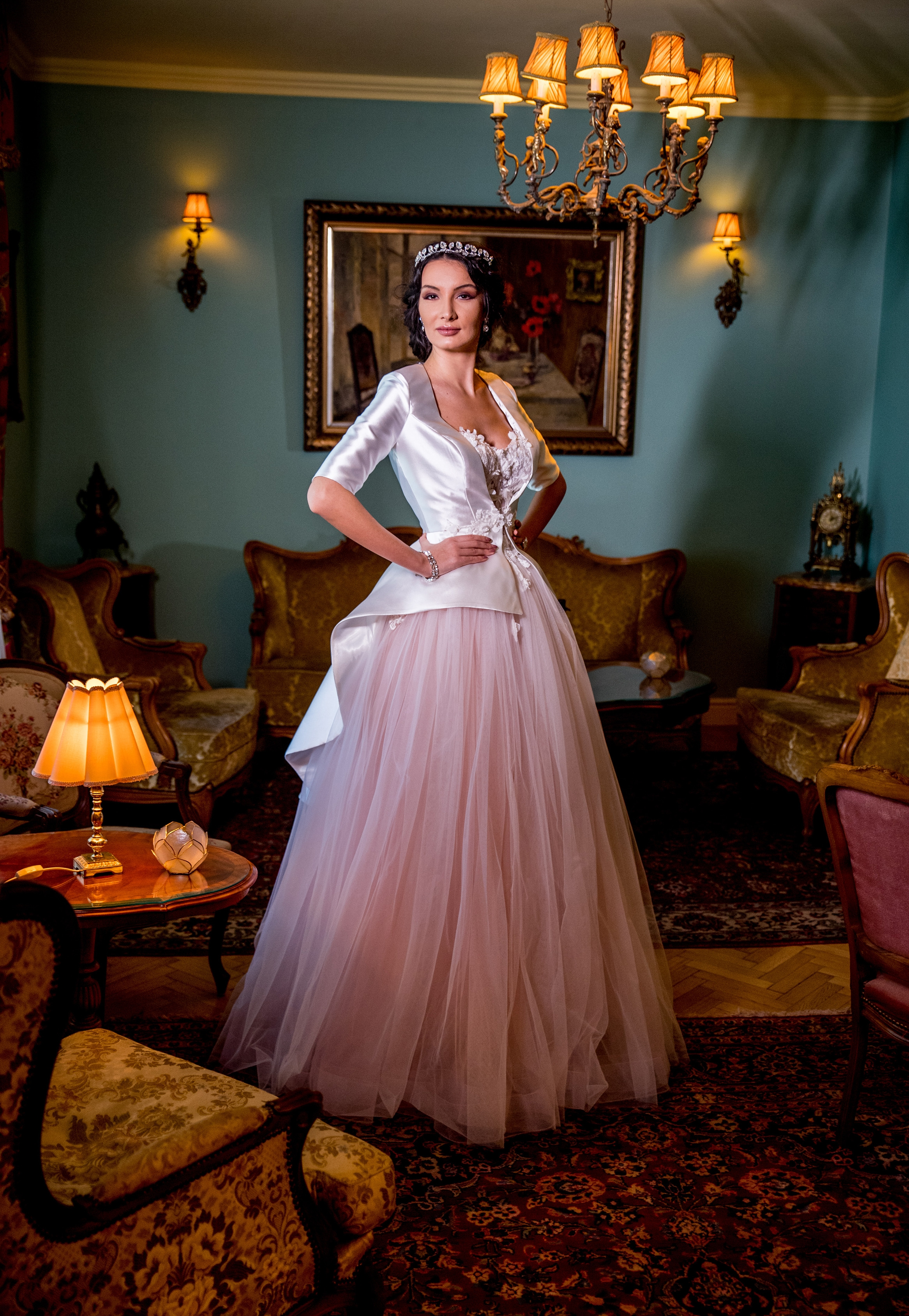 BLOSOMINE Wedding Dress