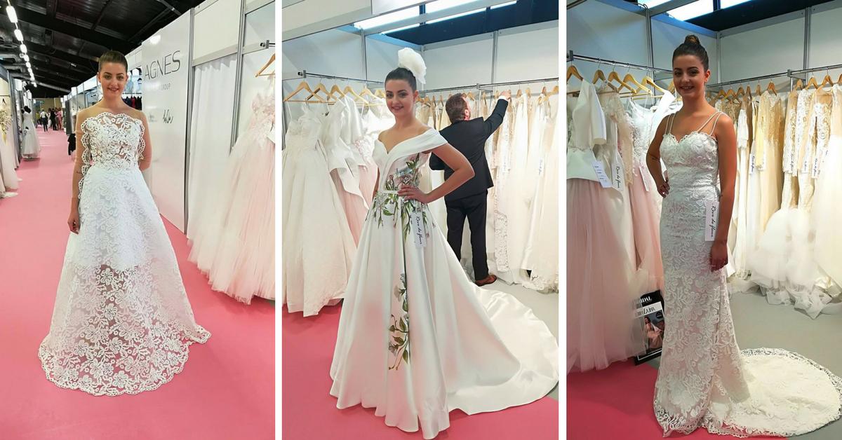 Rêve de fleur 2018 Bridal Collection - Harrogate Bridal Show 2017