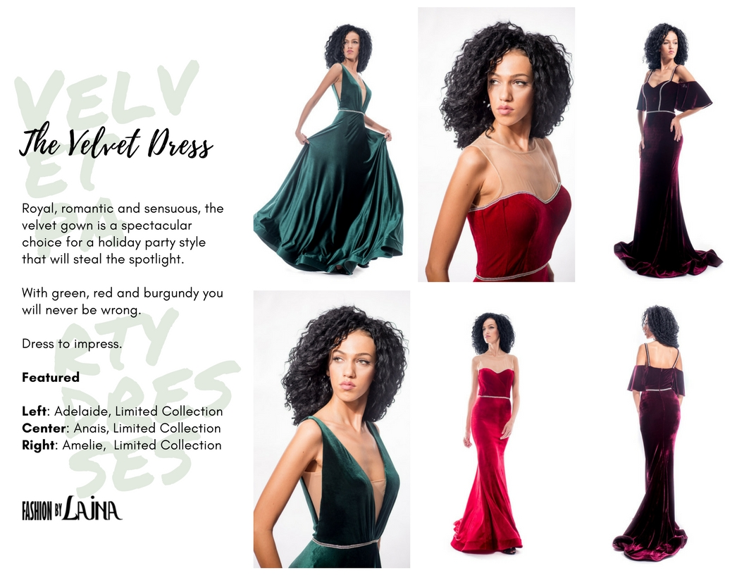 Shop the dresses:  Adelaide ,  Anais ,  Amelie .