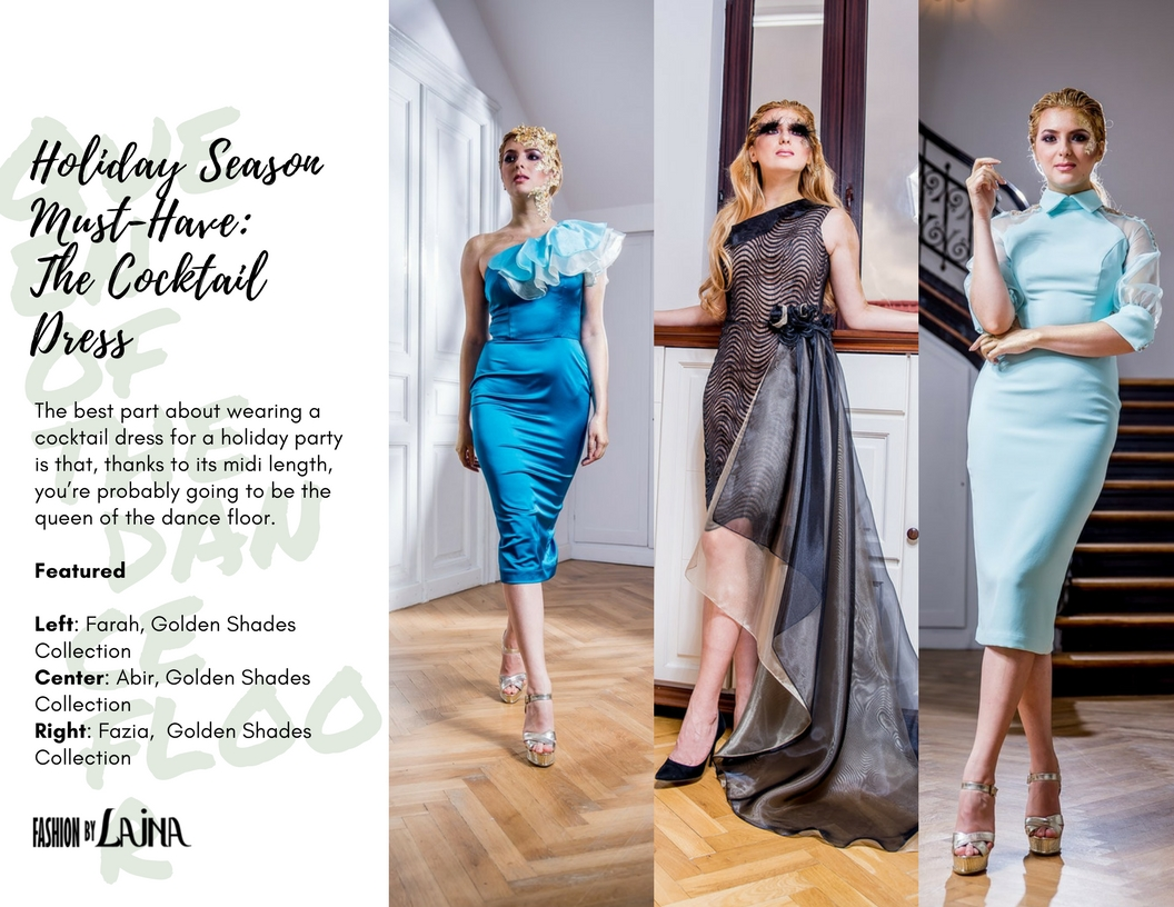 Shop the dresses:  Farah ,  Abir ,  Fazia .