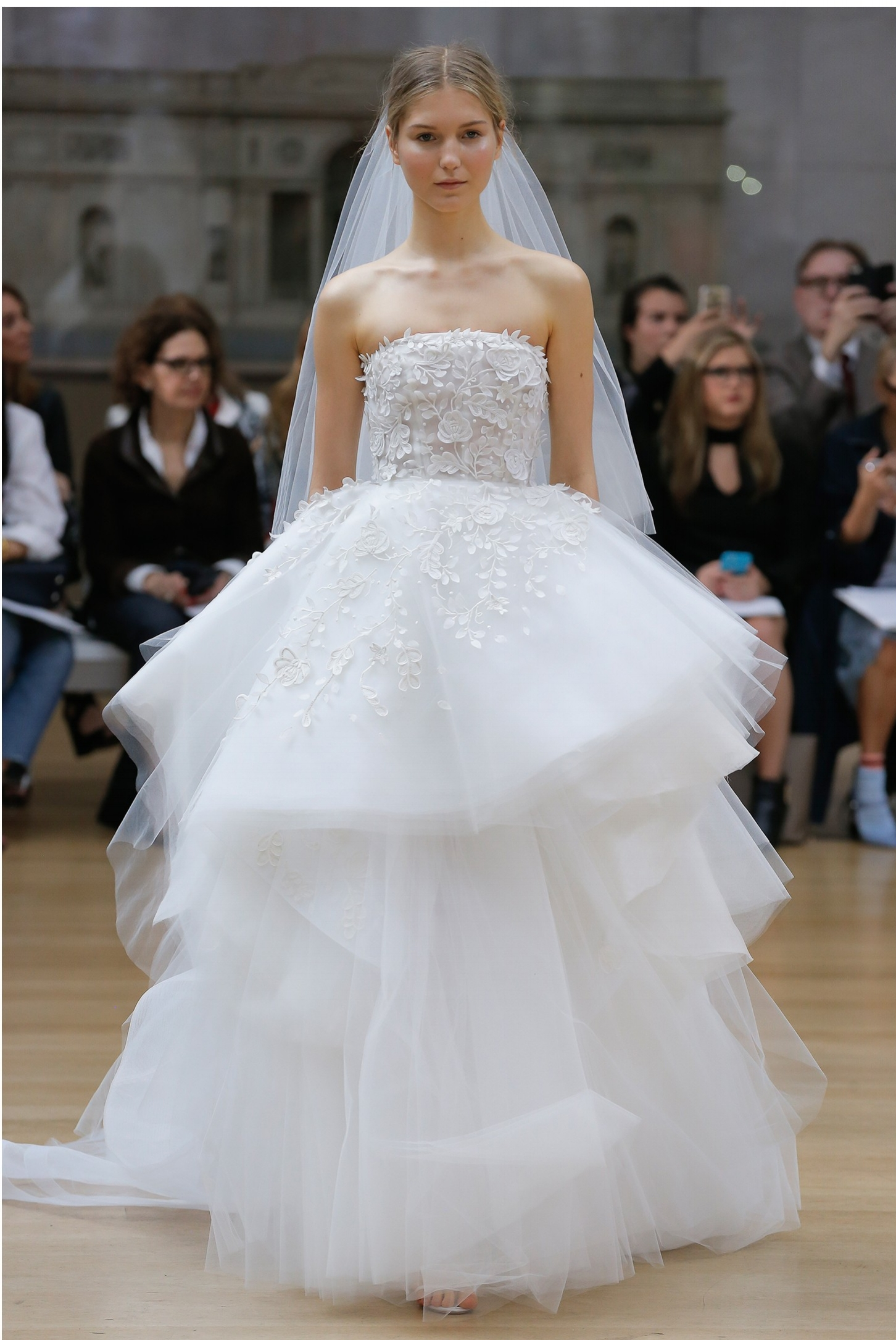 Wedding dress by Oscar de la Renta