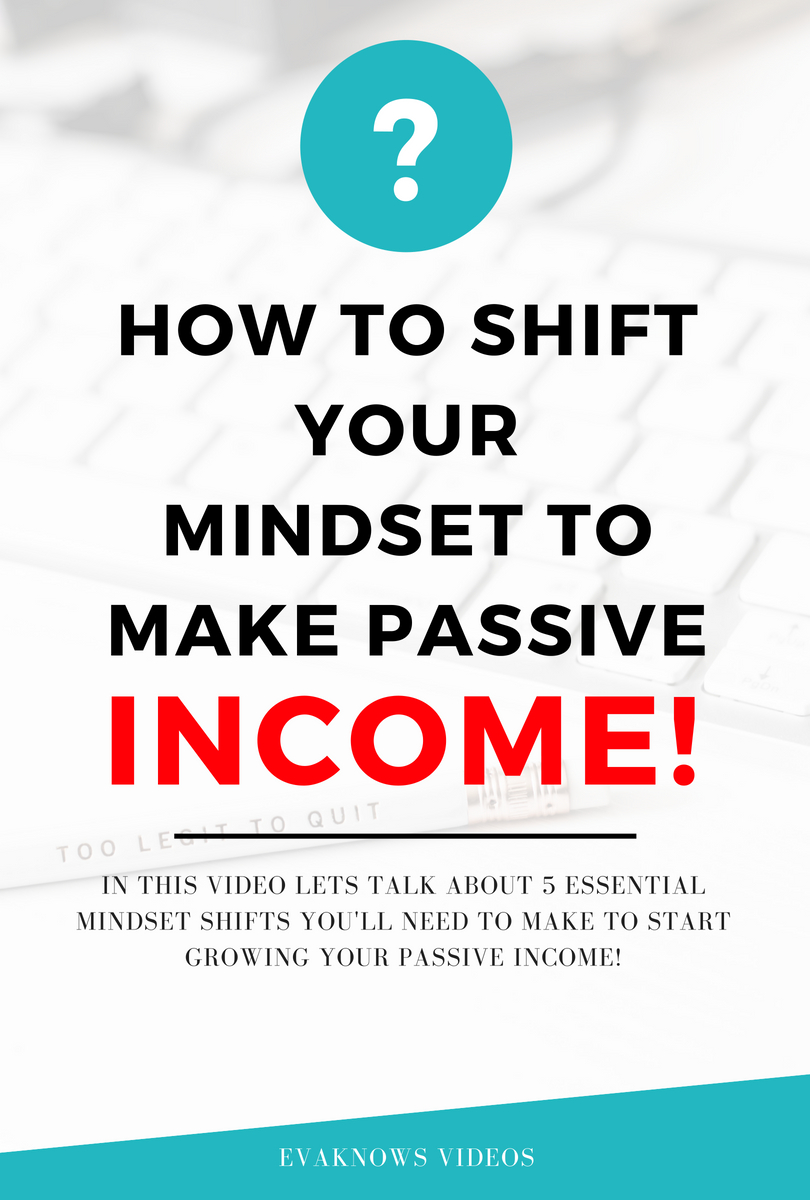 Check out this awesome Financial Freedom video - How to shift your mindset to make passive income | How to make money online | financial freedom | passive income | make money from home | building assets | money management | financial education