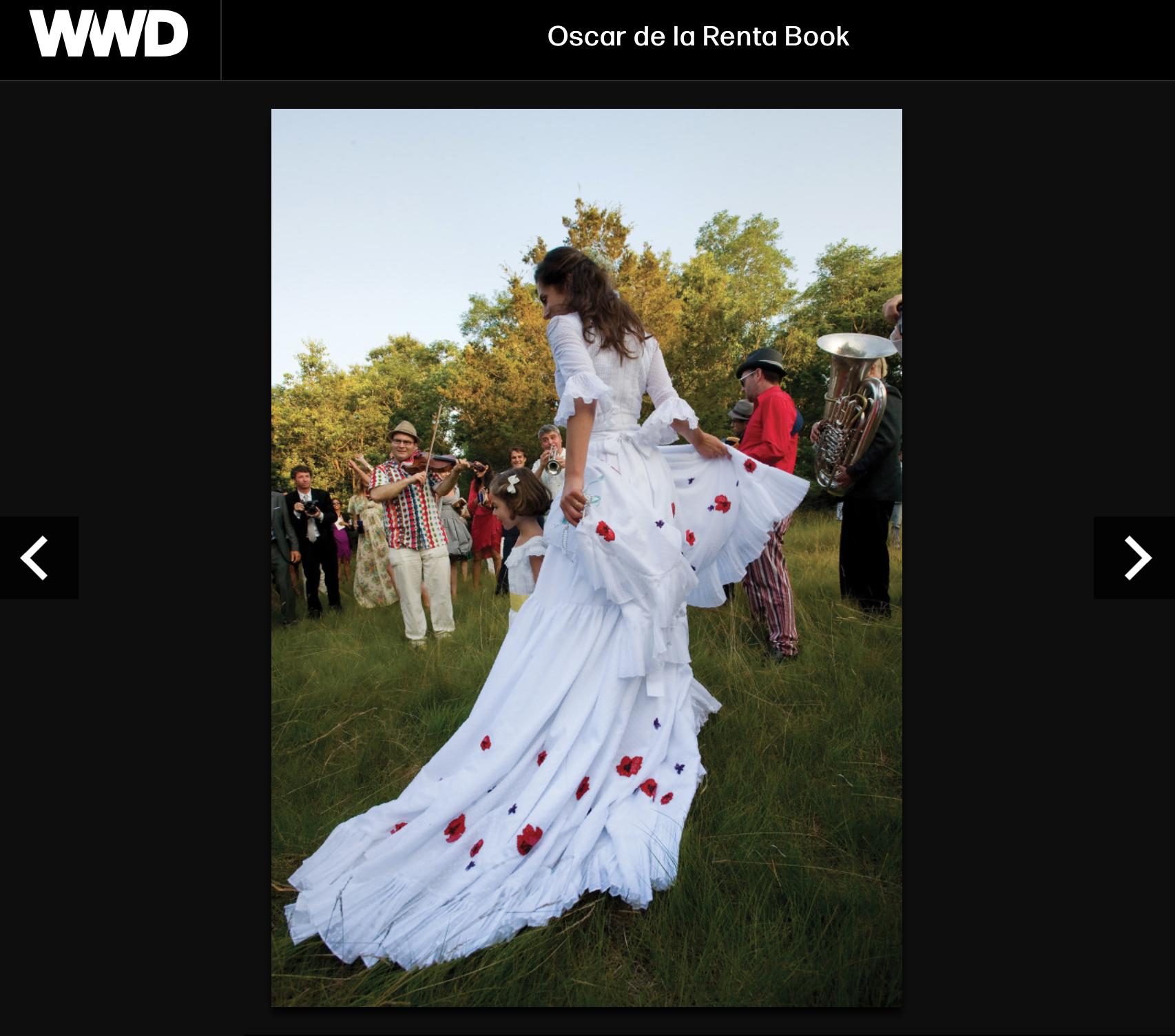 Miranda & Bastien - Women's Wear Daily ran our photos of the Miranda Brooks wedding here.
