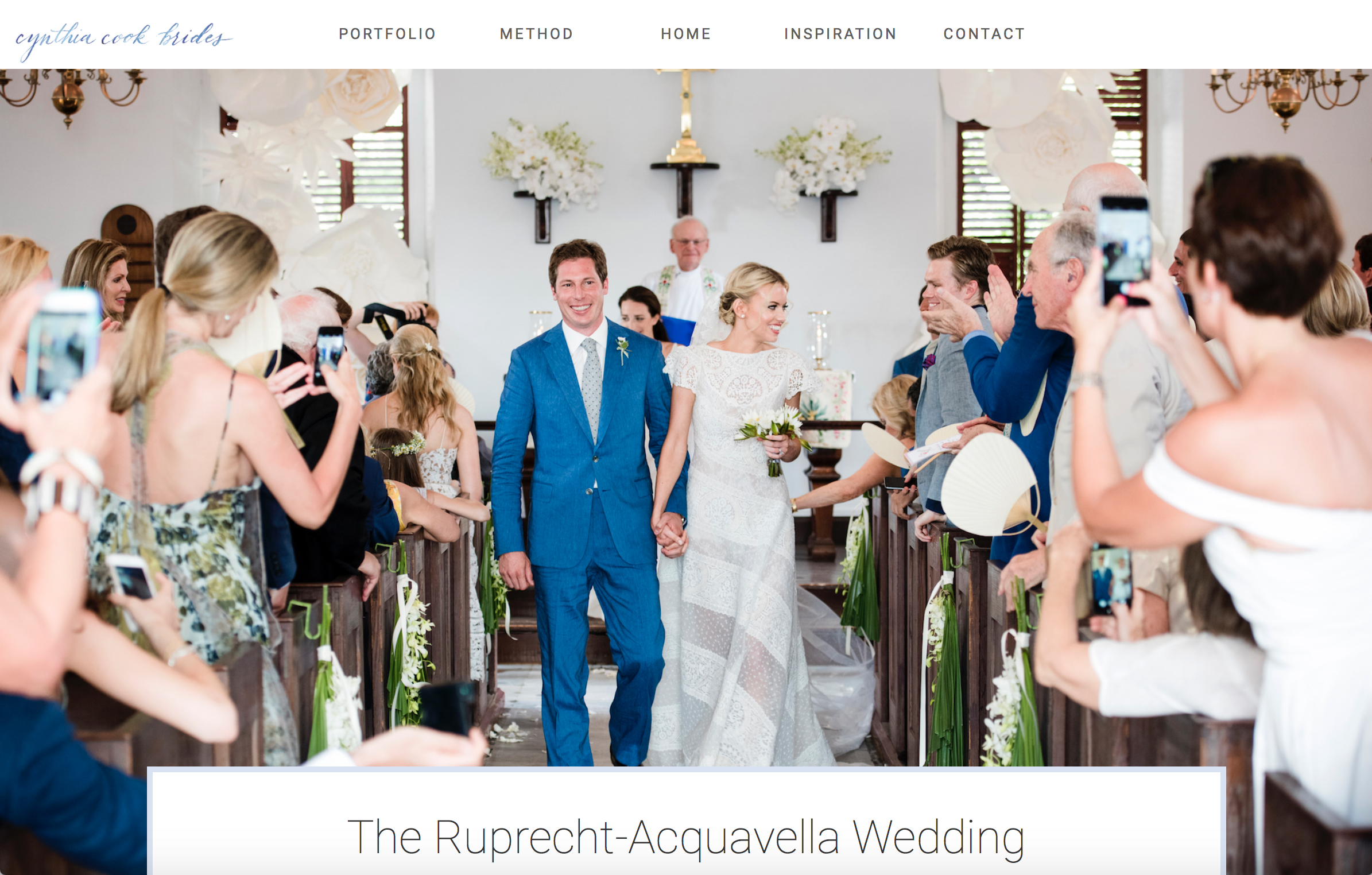 Mollie & Alex - We shot this incredible three day wedding on St. Barth's.