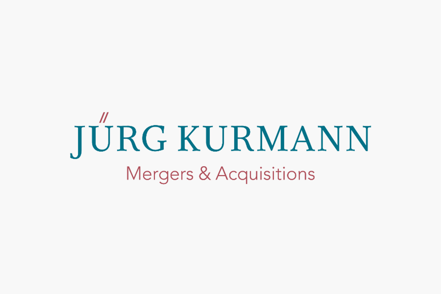 Online Marketing für Jürg Kurmann M&A