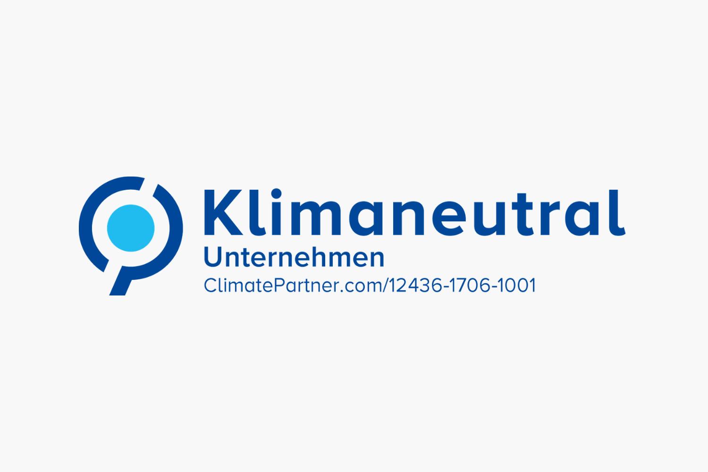 CO2 neutrale Werbeagentur - Wir versuchen unseren CO2-Ausstoss so tief wie möglich zu halten. Den rest kompensieren wir mit Beiträgen an zertifizierte Projekte in Kenia und Indonesien via ClimatePartner.