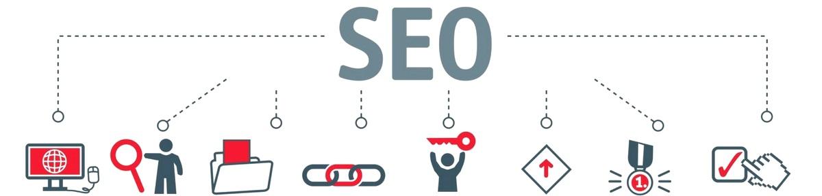 SEO beinhaltet sowohl die Websiteoptimierung als auch die Analyse, Textanpassungen, den Linkaufbau, Keyword-Analysen, CTR-Optimierungen, etc.