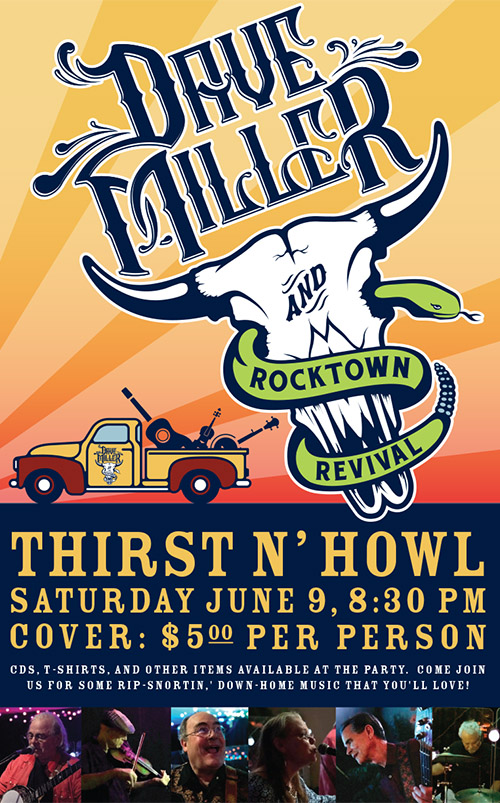 Dave Miller and Rocktown Revival Poster