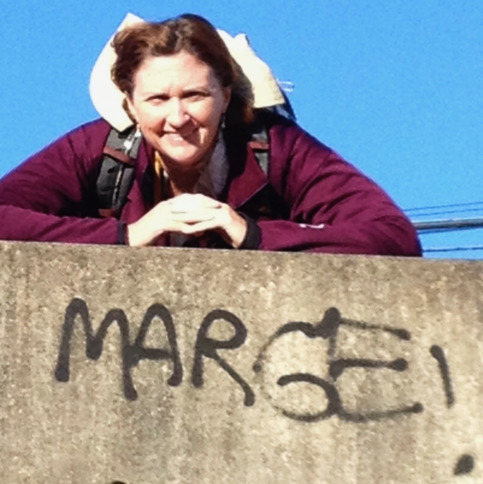 A message from my mom on Camino I, September 2013.