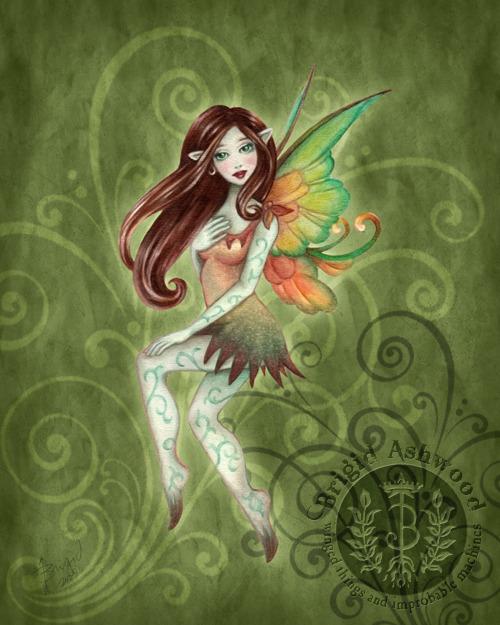 Terra Fairy Sprite