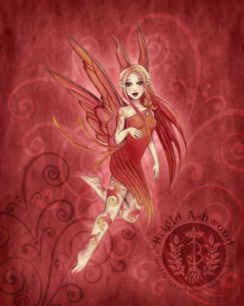 Ember Fairy Sprite