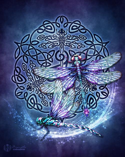 Celtic Dragonflies