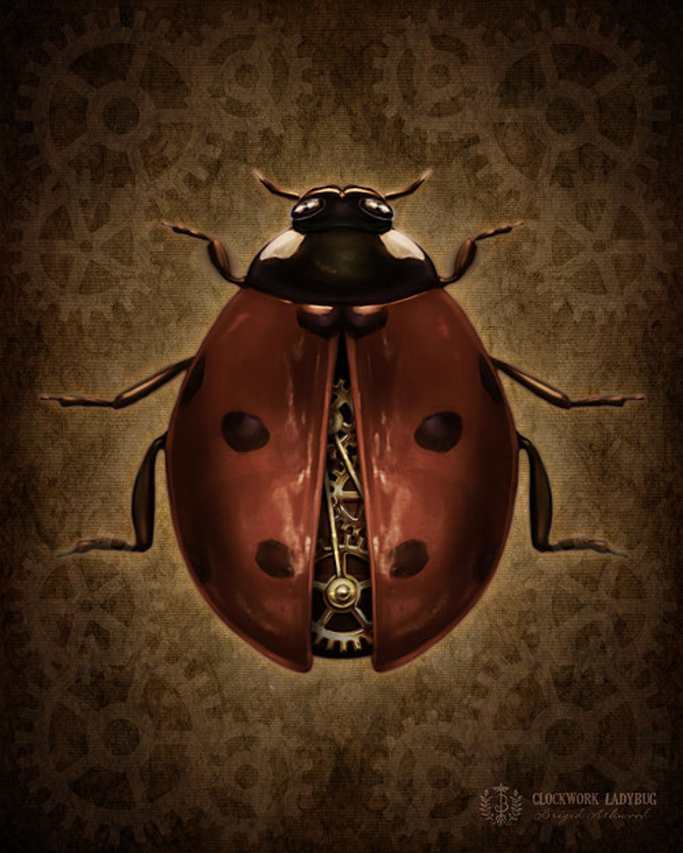 Steampunk Lady Bug