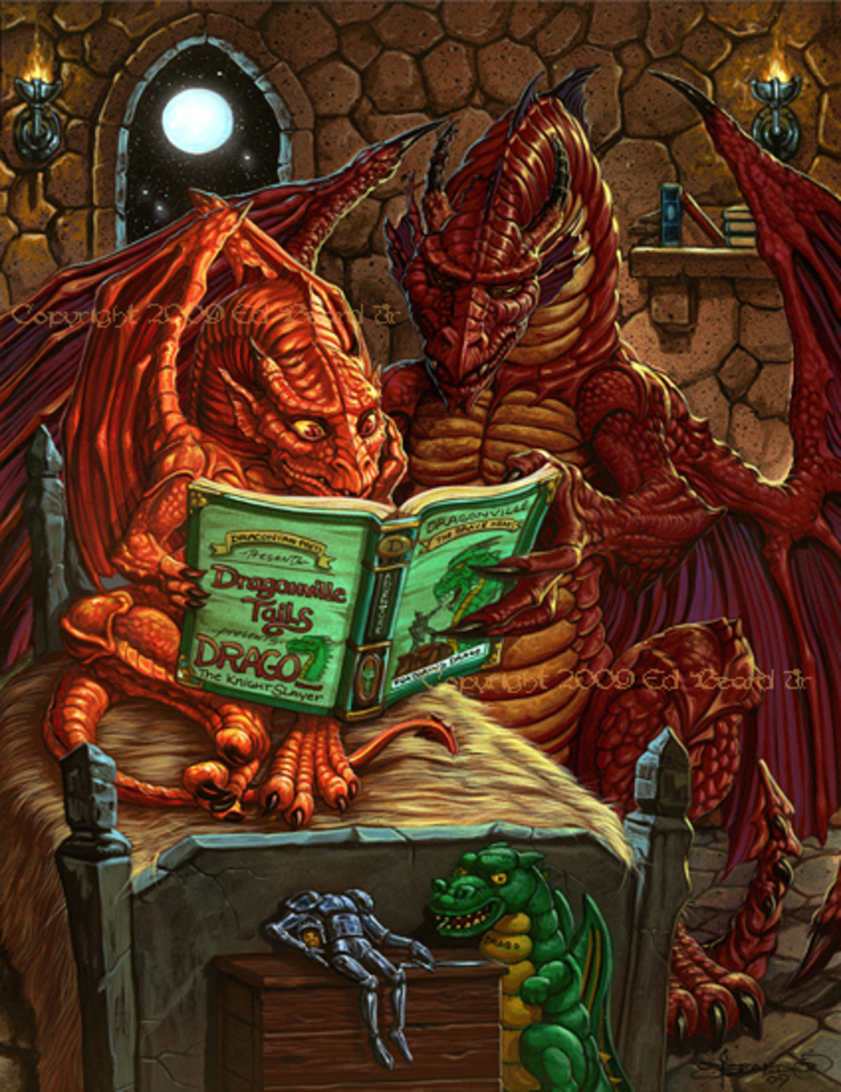 Dragon Bedtime Story