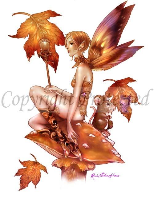 Falling Leaf and Friend