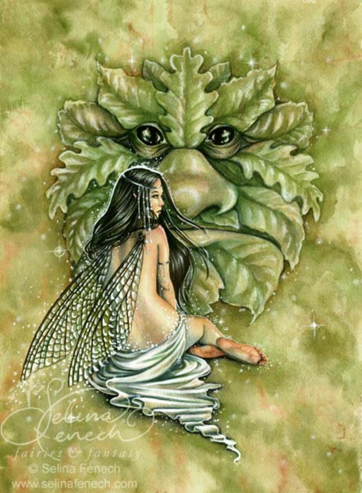 Greenman's Bride