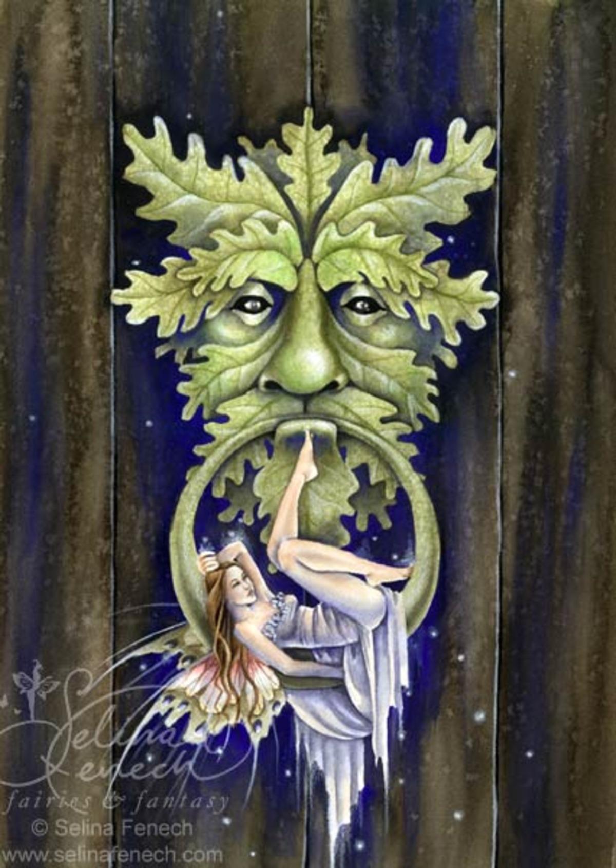 Greenman's Door