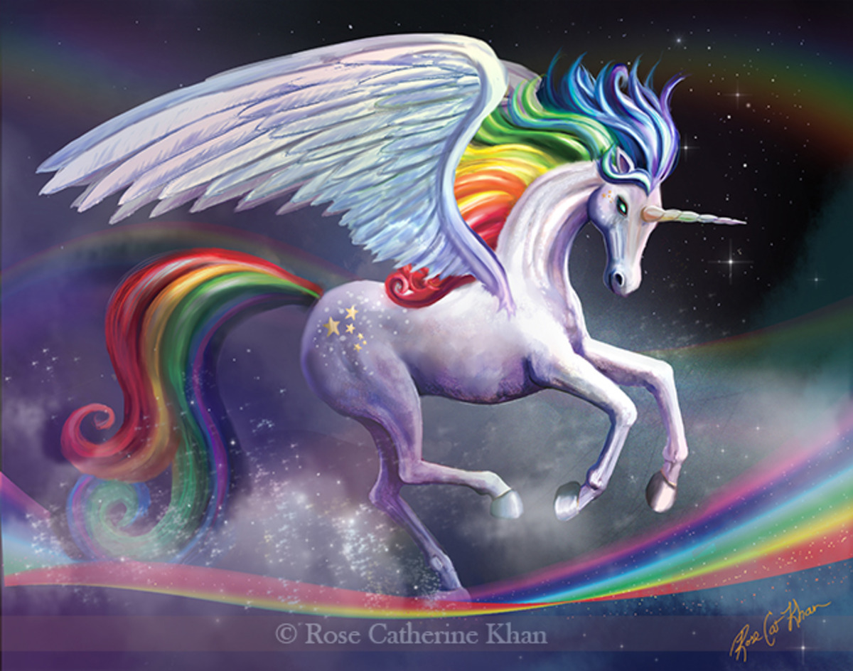 Rainbow Dancer Unicorn