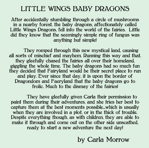 About the Little Wings Baby Dragons