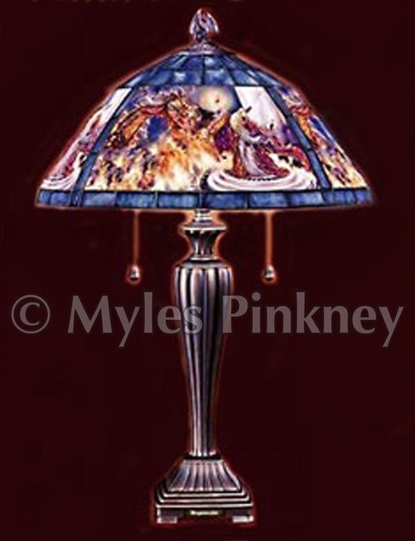 Dragon Master Lamp