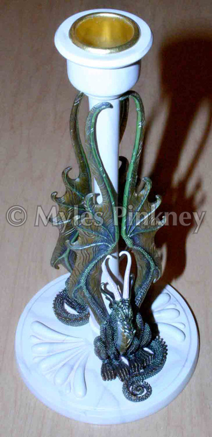 Dragons Candle Holder