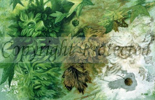 Green Man Four Seasons