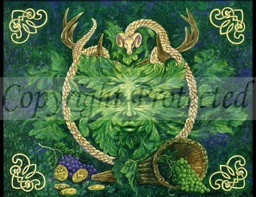 Green Man Cernunnos