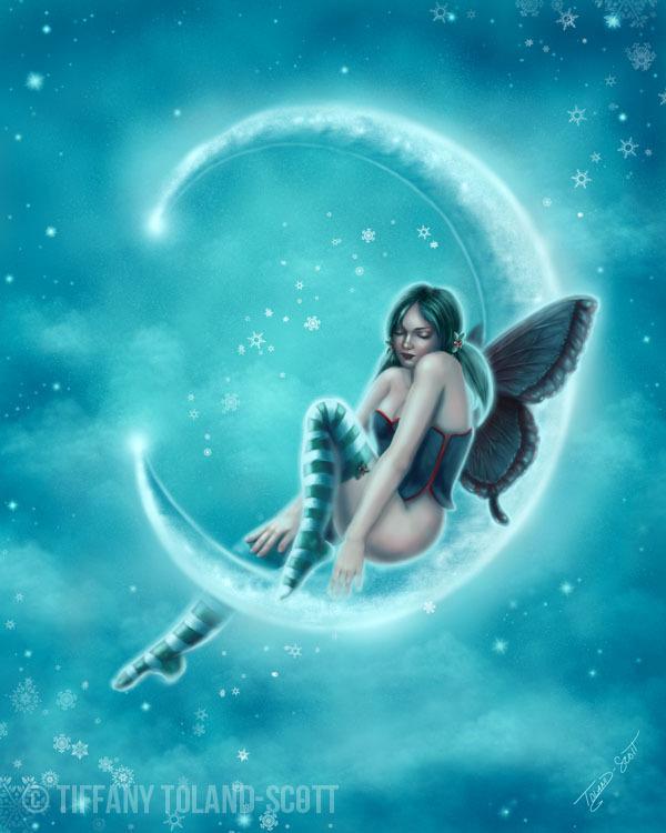 Wintergreen Moon